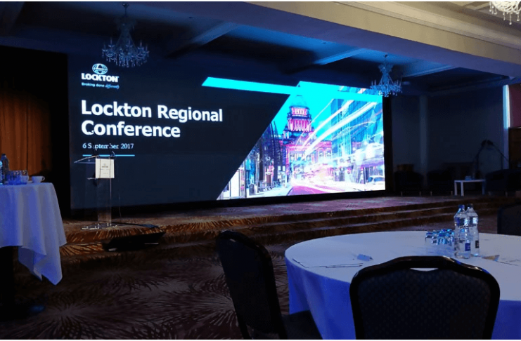 led Panels for Meeting Events