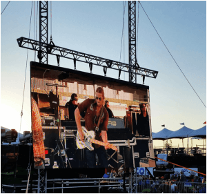 led Panels for Concert Events